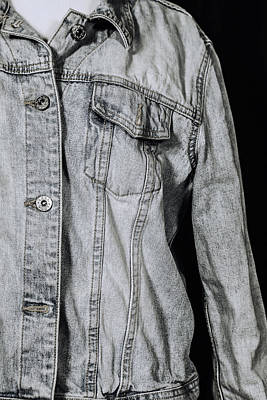 Denim Jacket Art Print by Joana Kruse