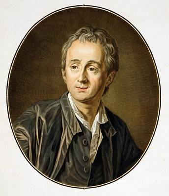 Dennis Diderot 1713-1784, French Art Print by Everett