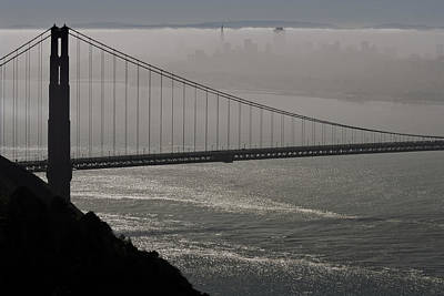 Photograph - Dense San Francisco Fog by Wes and Dotty Weber