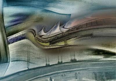 Pastel - Denverintlairportcomp 2 -10 by Glenn Bautista