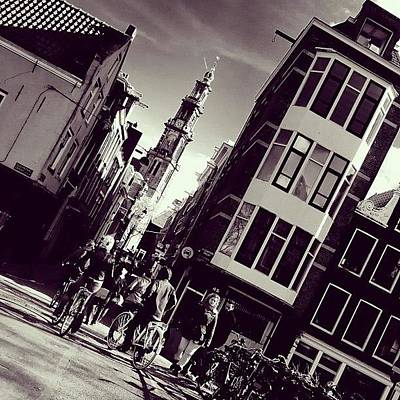 Dutch Photograph - Departing For The Tower by Jonathan P