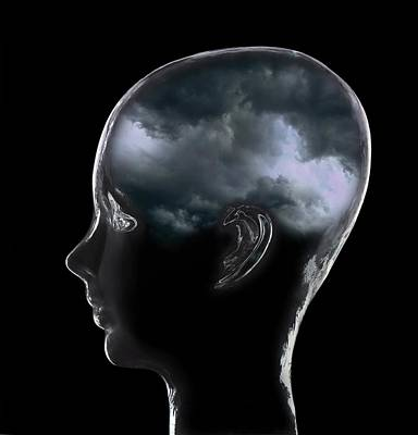 Depression, Conceptual Image Art Print by Mark Sykes