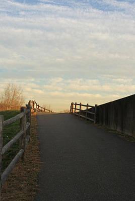 Photograph - Derby Riverwalk Trail by Margie Avellino
