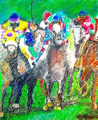 Derby Art Print by Rom Galicia