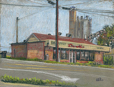 Canton Drawing - Derek's by Donald Maier