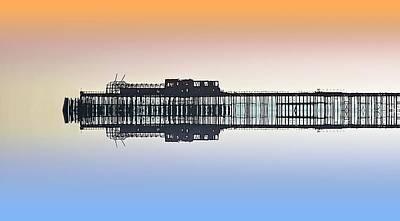 Tourist Attractions Digital Art - Derelict Beauty 2 by Sharon Lisa Clarke
