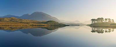 Y120831 Photograph - Derryclare Lough, Connemara, Ireland by Ben Pipe Photography