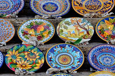 Italian Pottery Photograph - Deruga Artistry by Michael Biggs