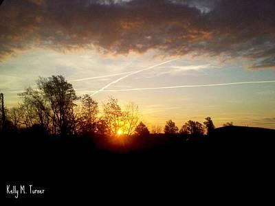 Giuseppe Cristiano - Descending Sunset by Kelly Turner