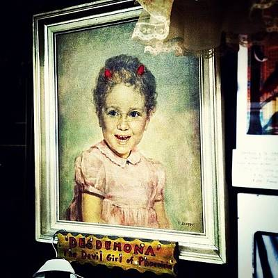 Desdemona: The Devil Girl Of Phoenicia Art Print