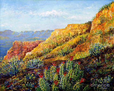 Painting - Desert Dreams by Lou Ann Bagnall
