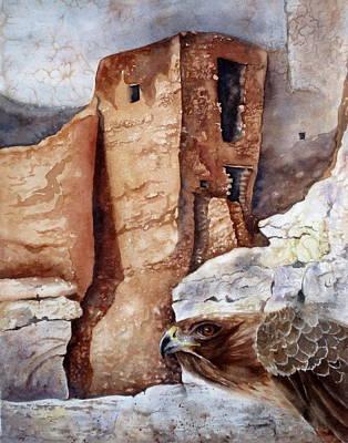 Desert Dwellers Art Print by Mary McCullah
