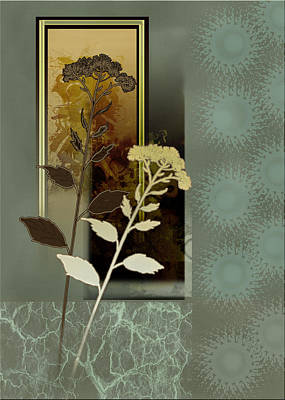 Desert Flowers Print by Regina Femrite
