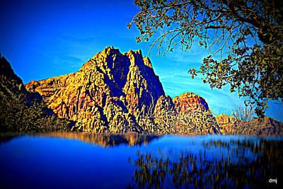 Photograph - Desert Island by Diane montana Jansson