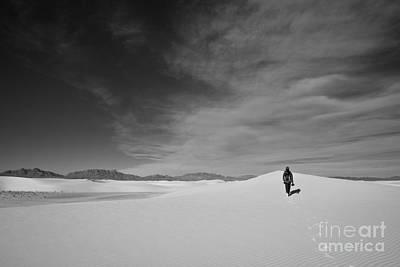 Photograph - Desert Loneliness by Olivier Steiner