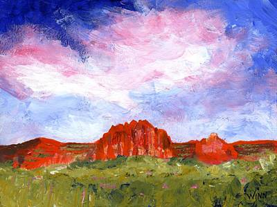 Painting - Desert Meadow by Brett Winn