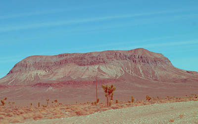 Rural Landscapes Photograph - Desert Mountain by Naxart Studio