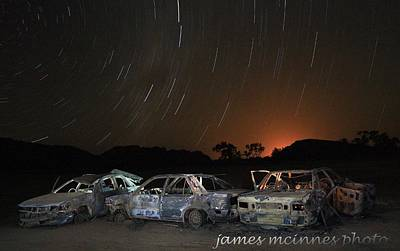 Photograph - Desert Nights by James Mcinnes