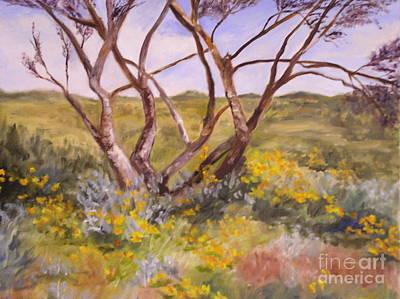 Painting - Desert Poppies by Alice Gunter