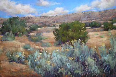 Pastel - Desert Reverie by Karen Margulis