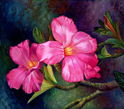 Painting - Desert Rose by Nancy Tilles