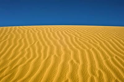 Desert Sand Dune Art Print by Photostock-israel