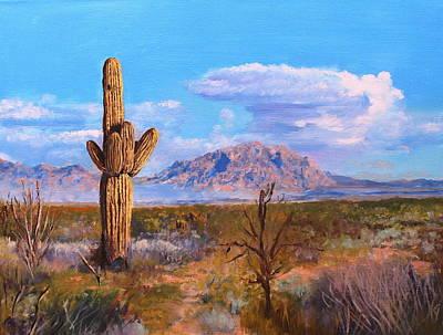 Desert Scene 4 Art Print