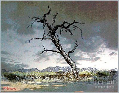 Desert Sentinel II Art Print