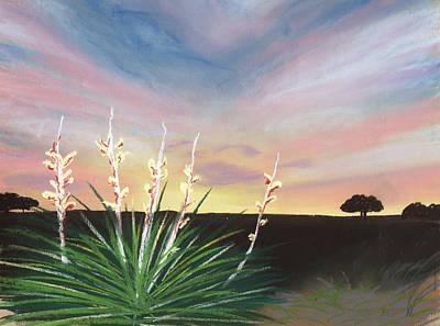 Desert Sunset Painting - Desert Sky by Jackie Novak