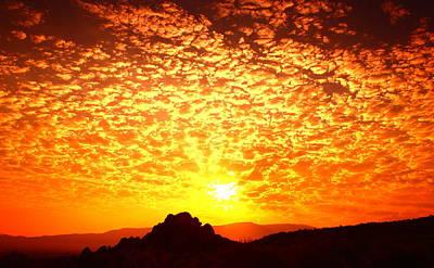 Photograph - Desert Sunrise by SB Sullivan