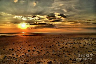 Photograph - Desert Sunset by Mareko Marciniak