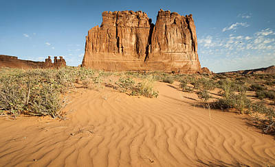 Y120831 Photograph - Desert Towers by Tom Kelly Photo