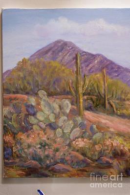 Painting - Desert Verdure by Alice Gunter