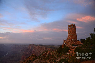 Desert View Watchtower Art Print