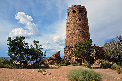 Photograph - Desert View Watchtower by Gene Sherrill