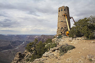 Photograph - Desert View Watchtower by Gregory Scott