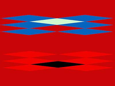 Lyrical Digital Art - Design - The Red Road by Lenore Senior