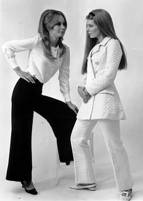 Pant Suit Photograph - Designer Suits by Richard Chowen