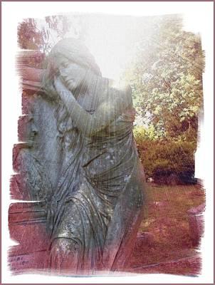 Graveyard Digital Art - Despair by Gra Howard