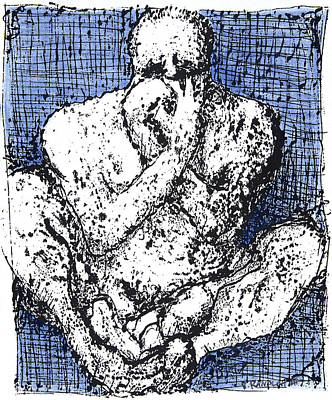 Despair Art Print by Vincent Randlett III