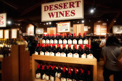 Photograph - Dessert Wines by Gary Rose