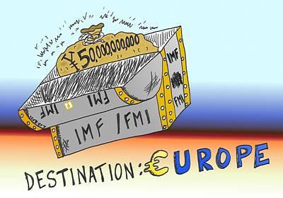 Financial Mixed Media - Destination Europe by OptionsClick BlogArt