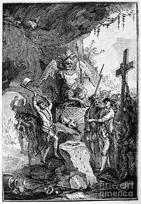 Destruction Of Idols, C1750 Art Print by Granger