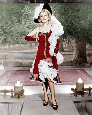 Destry Rides Again, Marlene Dietrich Art Print