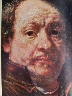 Detail From Portrait Of The Artist Rembrandt Canady Portfolio 9 Art Print by Jake Hartz