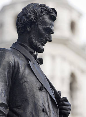 Honest Photograph - Detail Of Abraham Lincoln by Augustus Saint-Gaudens