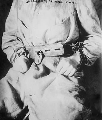 Detail Of Belt And Handcuffs On An Art Print