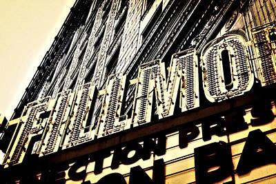 Detroit Fillmore Theatre Art Print by Alanna Pfeffer