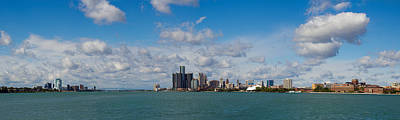 Windsor Photograph - Detroit Michigan Skyline by Twenty Two North Photography