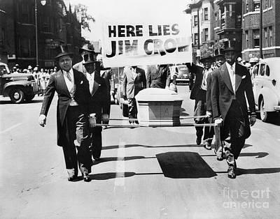 Detroit: Naacp Parade, 1944 Art Print by Granger